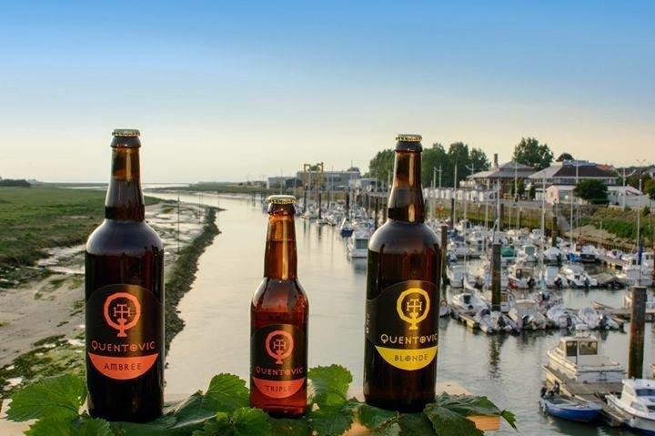 Bière Quentovic aux Pêcheurs d'Étaples